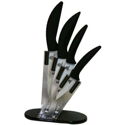 Support acrilique et ses quatres couteaux 3 4 5 et 6 for Support couteaux cuisine